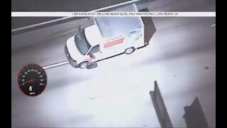 Stolen U Haul Police Pursuit, Spike Strips, Ridding Rims, Several Crashes