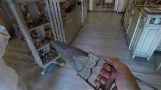 Replica Ancient Weapon Has Hidden Secret - Video