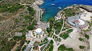 Sensational drone footage captures ancient Kallithea Springs in Greece  - Video