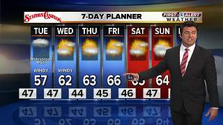 13 First Alert Weather for Jan. 8 - Video
