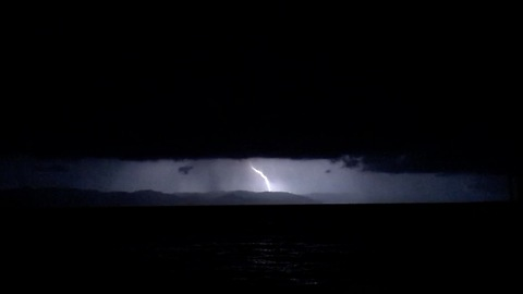 Incredible Tropical Lightning Storm in Puerto Vallarta Mexico
