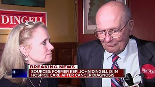 Sources: Former Rep. John Dingell is in hospice care after cancer diagnosis
