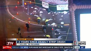 2 years since deadly crash on Las Vegas Strip - Video