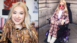 Teen With Spinal Muscular Atrophy Creates Fashion Line   BORN DIFFERENT