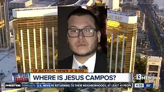 MGM says security guard Campos is safe but not ready to talk - Video