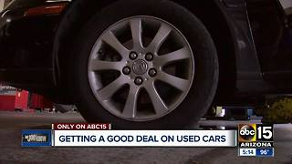 Buying a used car? Here's what to look for
