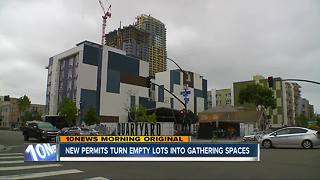 Placemaking Permits turn empty lots into gathering spaces - Video