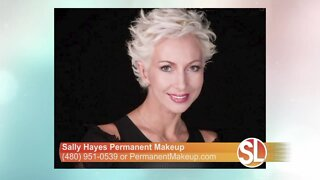 Sally Hayes explains how she does permanent makeup and why a consultation is so important