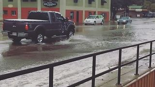 Flooding, Hail Hits Durango After Major Rainstorm - Video