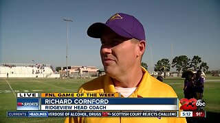 Live interview with Rich Cornford in Week 2