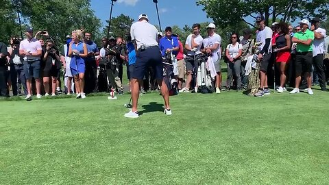 Go inside the ropes as Watson, DJ and Fowler play with celebs in Detroit