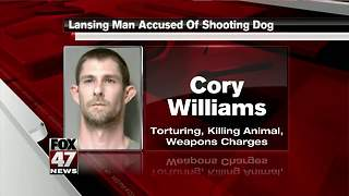 Man behind bars after killing neighbor's dog - Video