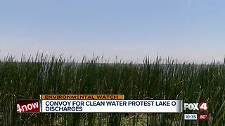 Hundreds gather near Lake O for clean water protest - Video