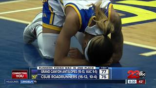 CSUB women lose heartbreaker with WAC title on the line - Video