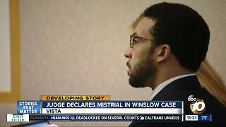 Jury deadlocked on remaining charges in Winslow trial, mistrial declared