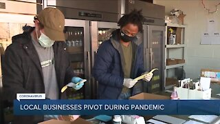 Local businesses pivot during pandemic