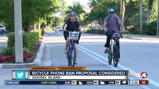 Sanibel to discuss cell phone use by bicyclists - Video