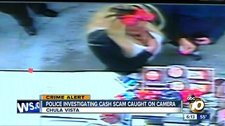 Attempted cash scam in South Bay caught on camera