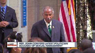 MI Rep. Conyers admits to paying settlement, denies harassment allegations - Video