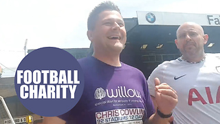 Football maniac raises thousands for charity after visiting all 92 league stadiums - Video
