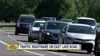 New residents adding to the traffic problem on East Lake Road - Video