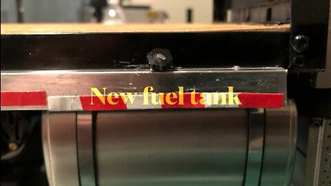 Overland gets new fuel tank