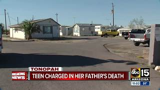 Daughter and boyfriend planned out father's murder in Tonopah
