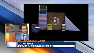 Gentleman's Box opening pop up shop - Video