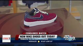 New England Patriots' owner debuts new Nike shoes