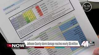 Estimated storm damage in Johnson County shy of $6 million - Video