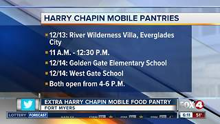 Harry Chapin Food Bank adds an extra mobile pantry - Video