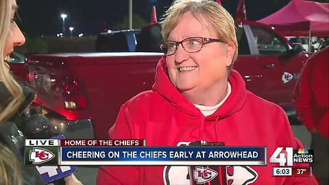 Early start for fans of Chiefs Kingdom