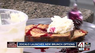 Zocalo launches new brunch options - Video