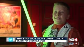 New Star Wars Movie Opens - Video