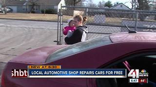 Metro auto shop drawing names for free repairs - Video