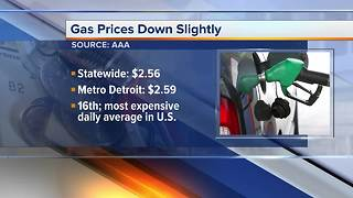 Gas prices in metro Detroit see large increase this week - Video