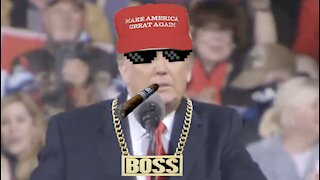 We will never ever surrender: Thug Life Like a Boss style: Trump