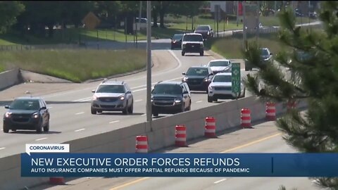 Gov. Whitmer, state officials order Michigan auto insurers to issue refunds due to pandemic