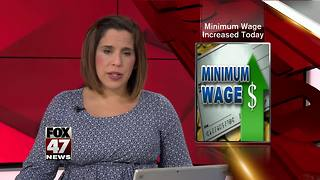 Michigan Minimum wage increasing - Video