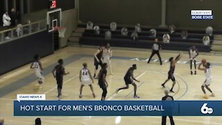 BSU Men's Basketball Hopes to Continue Strong Start