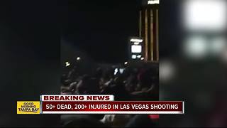 Shooting on Las Vegas Strip kills at least 50, more than 200 hurt - Video