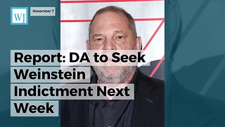 Report: DA to Seek Weinstein Indictment Next Week - Video