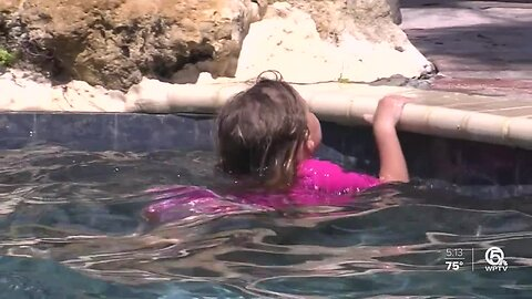 South Florida mom reminds parents: Be vigilant when kids are in the pool
