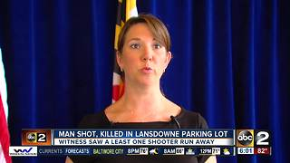 Man dies after shooting in Lansdowne Monday night - Video