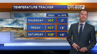 13 First Alert Las Vegas weather updated August 1 morning