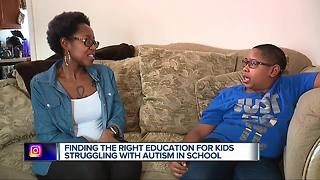 Online academy helps boy who has autism thrive in his education - Video