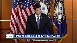 Fact-checking Paul Ryan's tax bill claims - Video