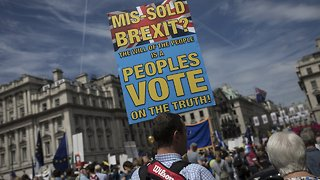 'People's Vote' Marchers Demand Final Say On Brexit