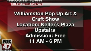 Around Town: Pop Up Art and Craft Show - Video