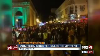 Accused Zombicon shooter to face trial